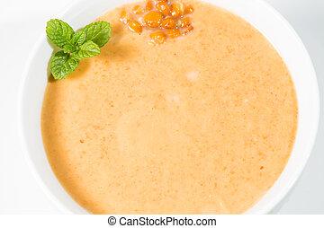 Cream of lentils