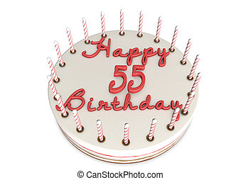 cream pie for 55th birthday