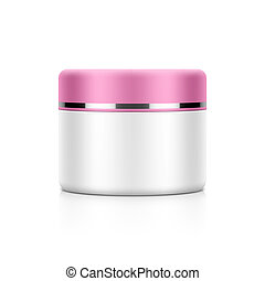 Cream, powder or gel jar