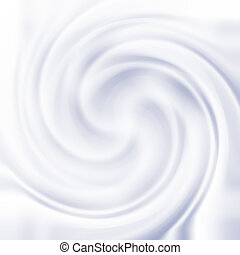 cream swirl texture - Abstract background with milk cream...