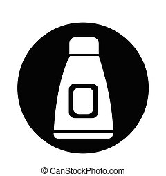 Cream Tube Icon