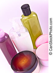 creams and lotions - nourishing cream and lotion set