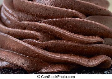 creamy chocolate mousse - Chocolate cream layered mousse...