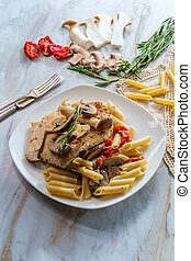 Creamy Italian Chicken Marsala