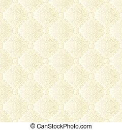 creamy pattern seamless or background with ornaments
