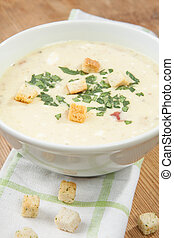 Creamy Potato Vegetable Soup