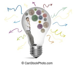 crear, idea