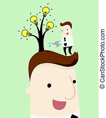 Create a new idea tree by yourself