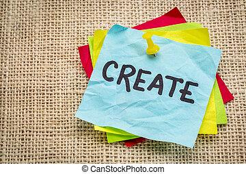 create reminder on sticky note