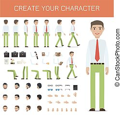 Create Your Character Businessman Collection.