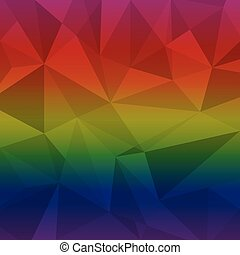 Created multi color triangle abstract background, stock...