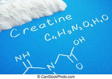 creatine, polvo