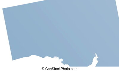 creating map Australia