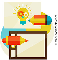 creation of ideas