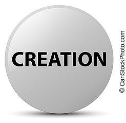Creation white round button