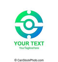 Creative abstract circle man vector logo design template element. Colorful concept icon