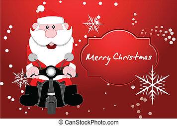 Santa Vector Cartoon