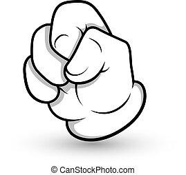 Cartoon Hand Gesture
