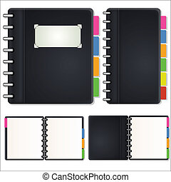 Diary Vectors - Creative Abstract Conceptual Design Art of...