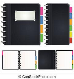 Diary Vectors - Creative Abstract Conceptual Design Art of ...