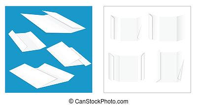 Folded Paper Vectors