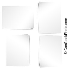 Glossy Blank Banners Vectors