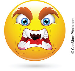 Horrifying Smiley Face - Creative Abstract Conceptual Design...