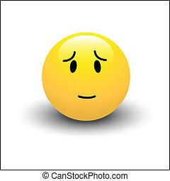 Innocent Smiley Vector - Creative Abstract Conceptual Design...