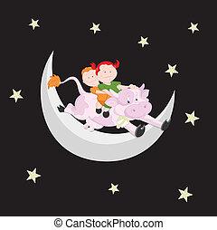 Kids on Moon