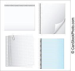 Notepad Vectors