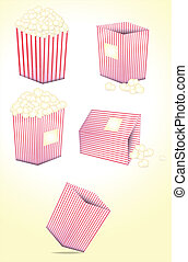 Popcorn Vectors