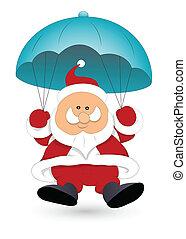 Santa Claus Vector Illustration