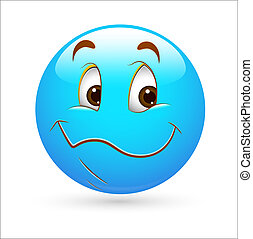 Smiley Emoticons Face Vector - Nice