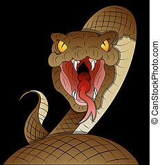 Snake Vector - Creative Abstract Conceptual Design Art of ...