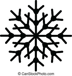 Snowflake Shape - Creative Abstract Conceptual Design Art of...