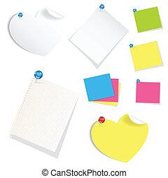 Sticky Notes Vectors