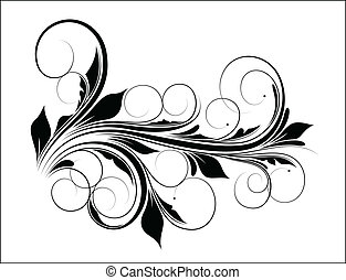 Swirl Vector Design - Creative Abstract Conceptual Design...