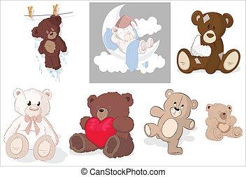 Teddy Bear Vectors