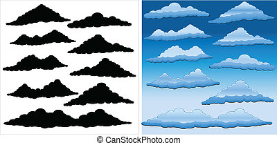 Vector Clouds Pack