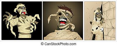 Zombies Vectors