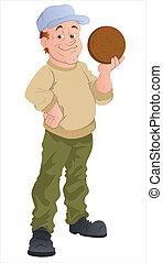 Cartoon Player Character