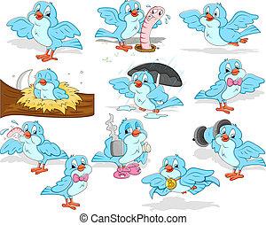 Sparrow Vectors - Creative Abstract Design Art of Sparrow...
