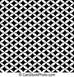 abstract shape seamless pattern