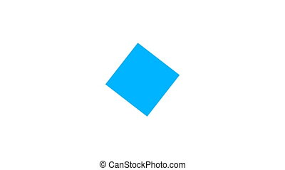 Creative abstraction with flat square, 3d render backdrop for creative design, computer generated background