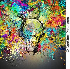 Creative and colorful idea