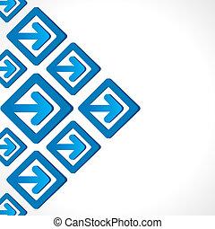 creative arrow business banner