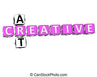 Creative Art Crossword