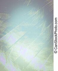 Creative background with powerful and bright abstract sun, ...