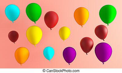 Creative Balloon Background