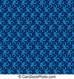 creative blue design pattern